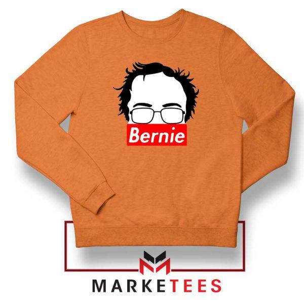 Bernie Silhouette Supreme Orange Sweater