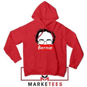 Bernie Silhouette Supreme Red Hoodie