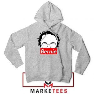 Bernie Silhouette Supreme Sport Grey Hoodie