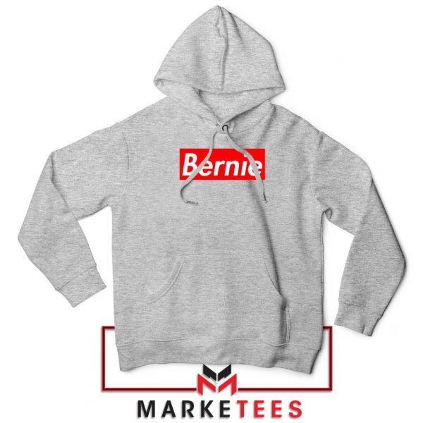 Bernie Supreme Parody Sport grey Hoodie