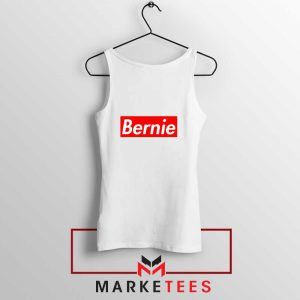 Bernie Supreme Parody Tank Top