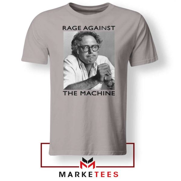 Bernies Rage Agaist The Machine Grey Tshirt