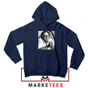Bernies Rage Agaist The Machine Navy Blue Hoodie