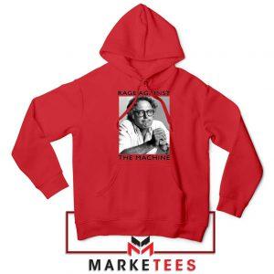 Bernies Rage Agaist The Machine Red Hoodie