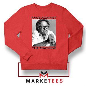Bernies Rage Agaist The Machine Red Sweatshirt