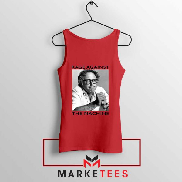 Bernies Rage Agaist The Machine Red Tank Top