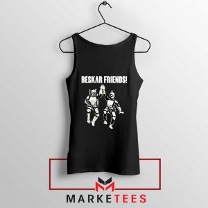 Beskar Friends The Mandalorian Tank Top