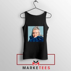 Billie Eilish American Artist Black Tank Top
