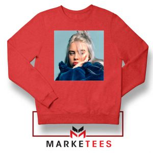 Billie Eilish American Artist Red Sweatshirt