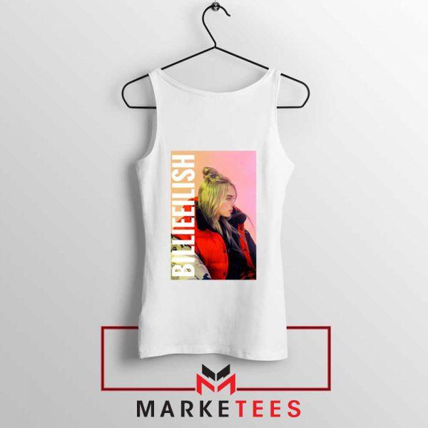 Billie Eilish Artist Poster Tank Top