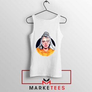 Billie Eilish Hip Hop Singer Tank Top