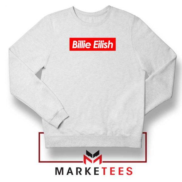 Billie Eilish Parody Supreme Sweater