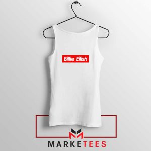 Billie Eilish Parody Supreme Tank Top