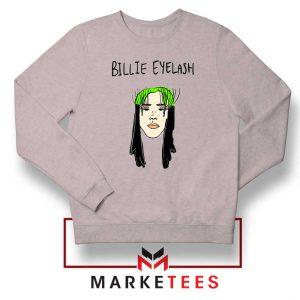Billie Eyelash Sport Grey Sweatshirt