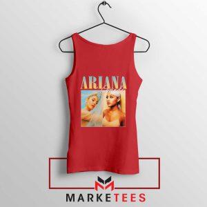 Buy Ariana Grande 90s Vintage Red Tank Top