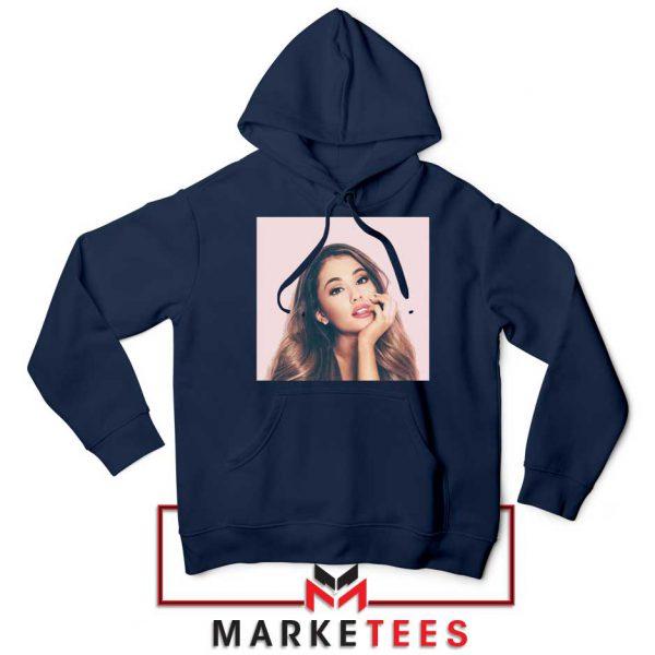 Buy Ariana Grande Posters Navy Blue Hoodie