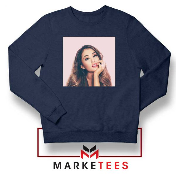 Buy Ariana Grande Posters Navy Blue Sweater