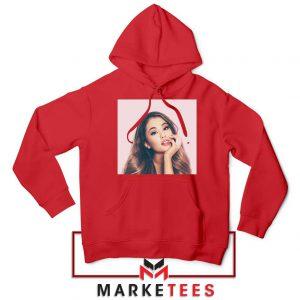 Buy Ariana Grande Posters Red Hoodie