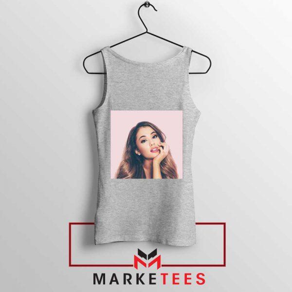 Buy Ariana Grande Posters Sport Grey Tank Top