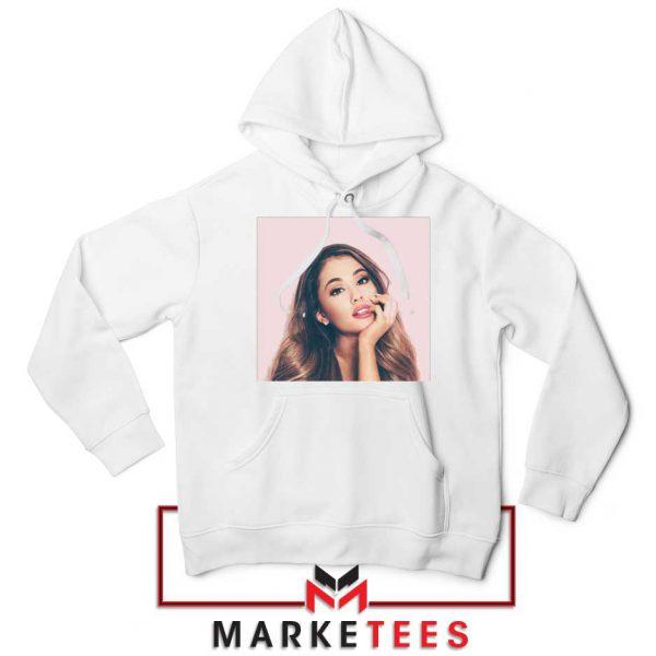 Buy Ariana Grande Posters White Hoodie