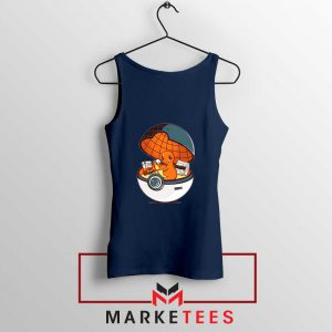 Buy Charmander Video Game Navy Blue Tank Top