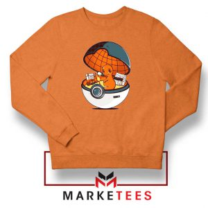 Buy Charmander Video Game Orange Sweatshirt