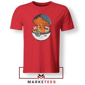 Buy Charmander Video Game Red Tee Shirt