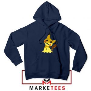Buy Cute Pikachu Mimikyu Navy Blue Hoodie
