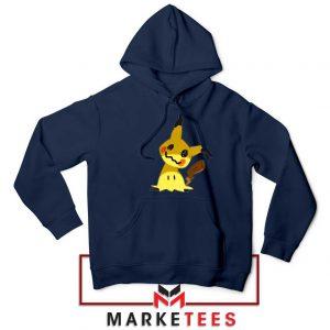 Buy Cute Pikachu Mimikyu Navy Blue Hoodie