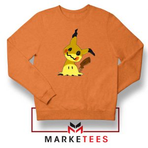 Buy Cute Pikachu Mimikyu Orange Sweater