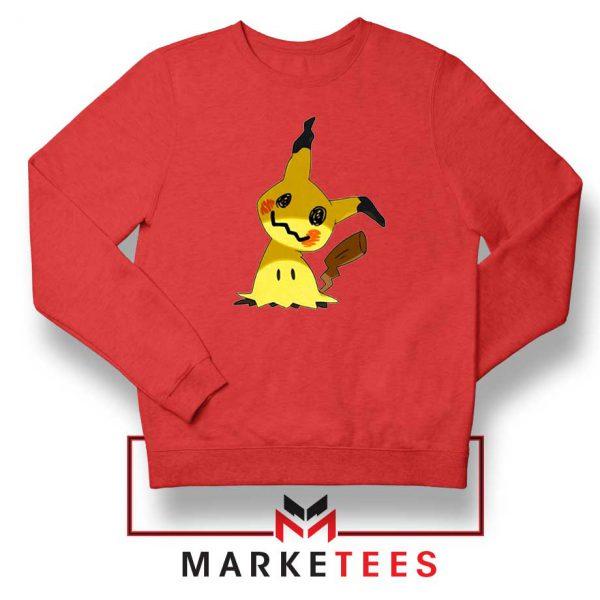 Buy Cute Pikachu Mimikyu Red Sweater