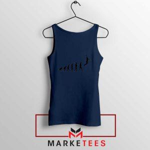 Buy Evolution Basketball Navy Blue Tank Top