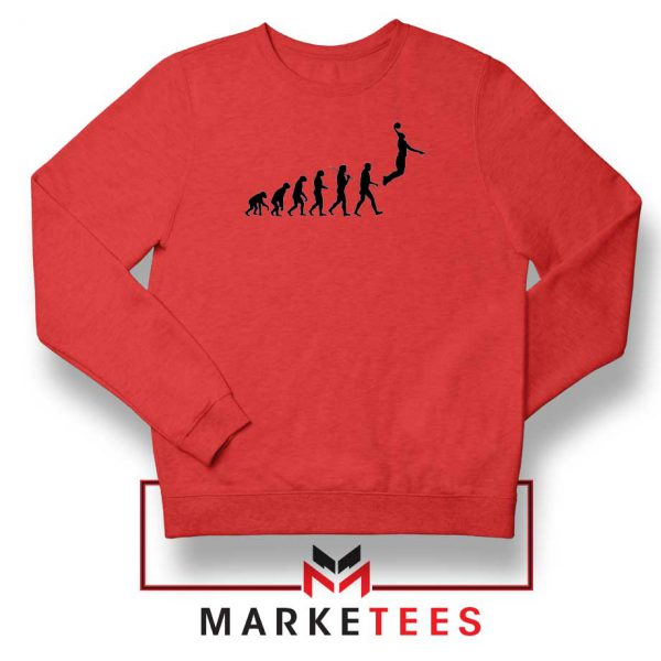 Buy Evolution Basketball Red Sweater