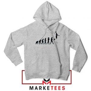 Buy Evolution Basketball Sport Grey Hoodie