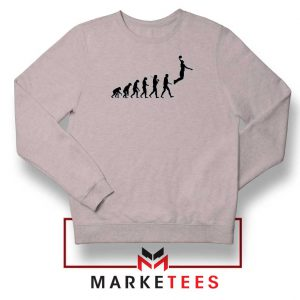 Buy Evolution Basketball Sport Grey Sweater
