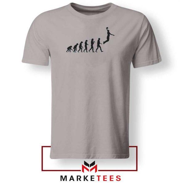 Buy Evolution Basketball Sport Grey Tee Shirt