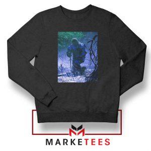 Circles Kneeling Post Malone Black Sweatshirt
