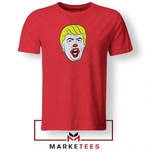 Donald Trump Clown Red Tee Shirt