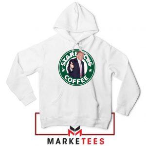 Donald Trump Starbucks Parody Hoodie