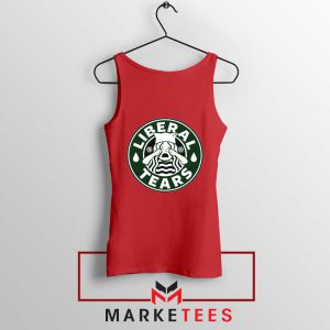 Funny Liberal Tears Red Tank Top