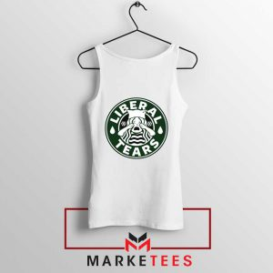 Funny Liberal Tears White Tank Top