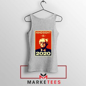 Hindsight Is Bernie Sanders Sport Grey Tank Top
