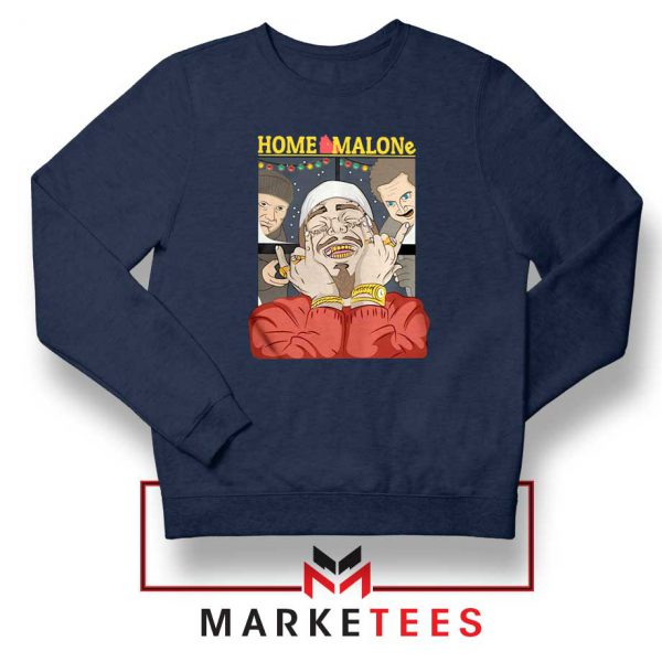 Home Malone Navy Sweater