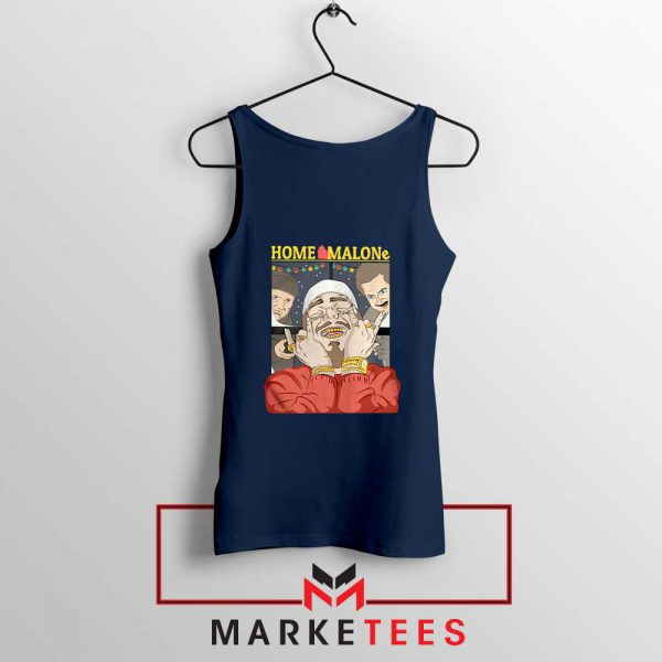 Home Malone Navy Tank Top