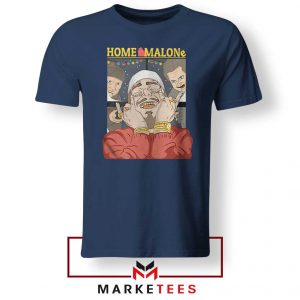 Home Malone Navy Tee Shirt