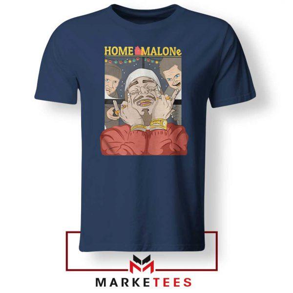 Home Malone Navy Tee Shirt