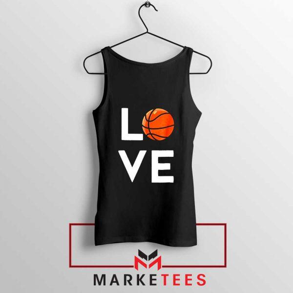 I Love Basketball Tank Top
