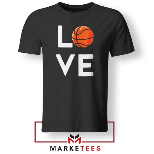 I Love Basketball Tee Shirt