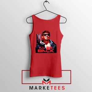 I ll Be Back Donald Trump Red Tank Top