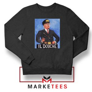 IL Douche Donald Trump Black Sweater